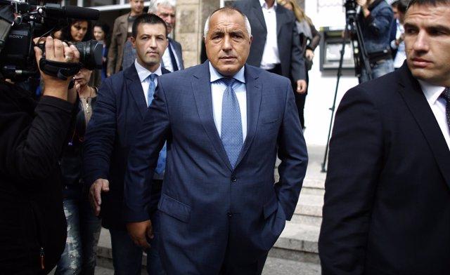 Boiko Borisov, líder del partido búlgaro GERB