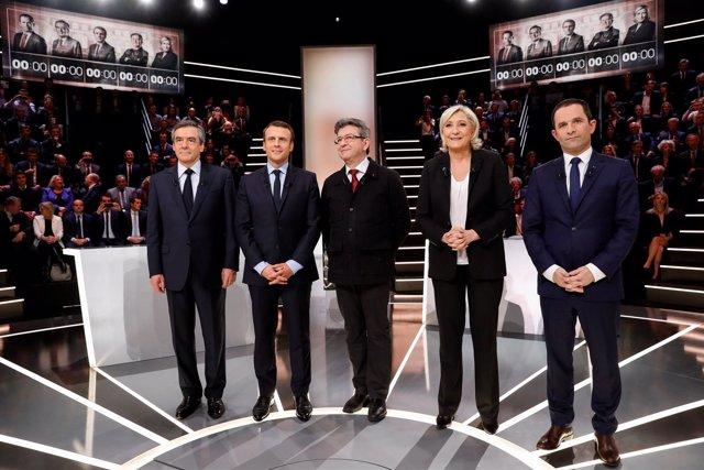Debate presidencial en Francia