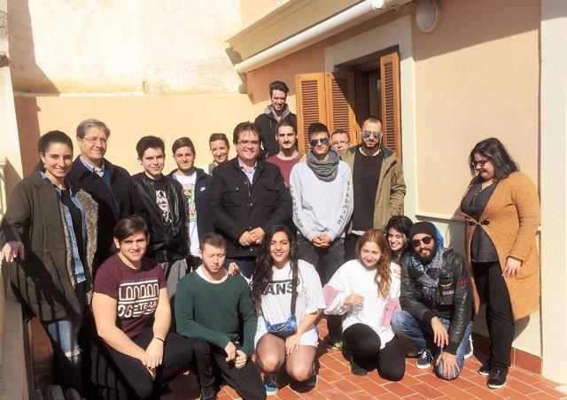 Los alumnos de Producción del IES Albaida conocen de cerca Fical.