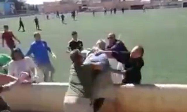 Pelea en un partido infantil en Alaró