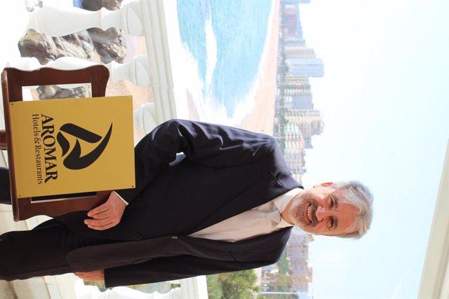 Diego Arnaste, director general de Aromar Hotels & Restaurants