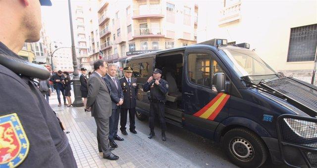 Las infracciones penales bajan un 8,81% en Fallas
