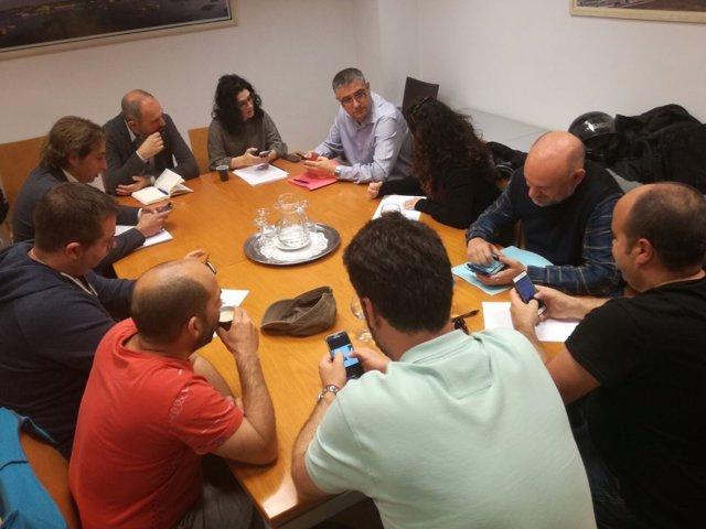 Reunión del comité de SFM y directores generales del Govern