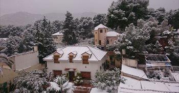 Las temperaturas sufren una caída notable desde hoy y la cota de nieve...