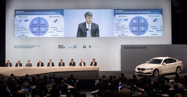 Harald Krüger en la conferencia anual de resultados de 2016