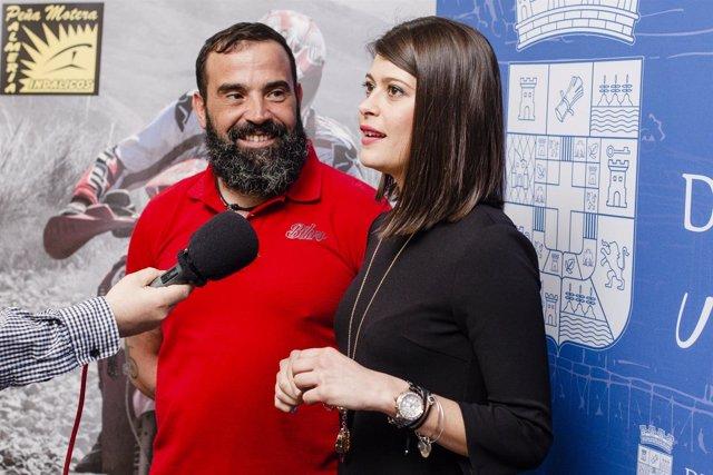 La diputada de Deportes ha respaldado el reto de Antonio Sánchez Nieto.