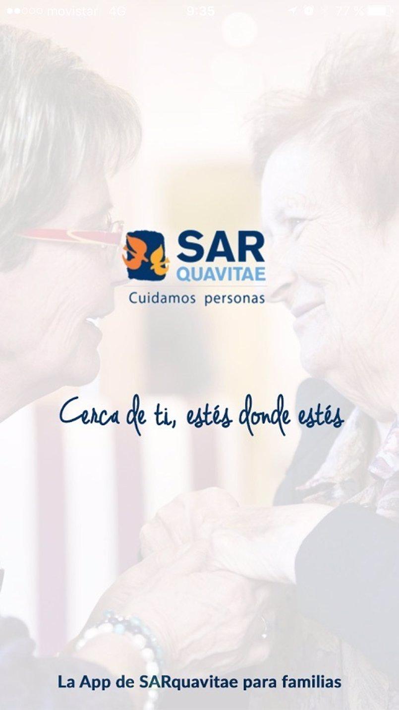 Geriatros-SARquavitae lanza una App para mejorar la comunicación con las familias de los residentes