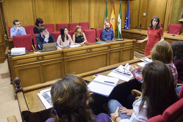 La diputada Carmen Belén López ha presentado las nuevas acciones del PDL.