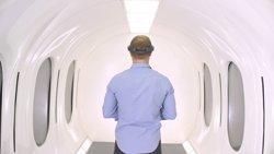 Hyperloop mostra com serà la càpsula de passatgers per als seus viatges ultraràpids de cara al 2018 (HYPERLOOP)
