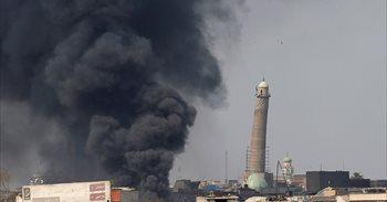 Les fuerces iraquines traten d'evacuar a civiles de la Ciudá Vieya de Mosul