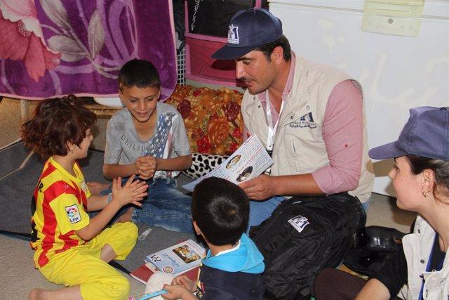 Un hombre yazidí gana un premio humanitario por su labor en el norte de Irak