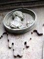 El espacio del medallón de Franco en la Plaza Mayor quedará vacío
