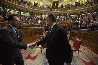 """Rajoy demana al Congrés que ETA digui ja """"on estan les armes sense cap tipus de negociació"""" (EUROPA PRESS)"""