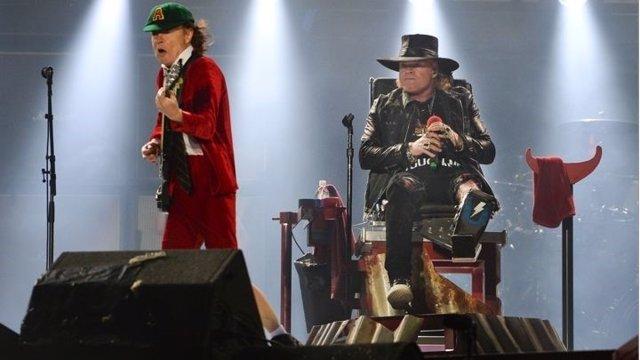 Axl Rose y AC/DC