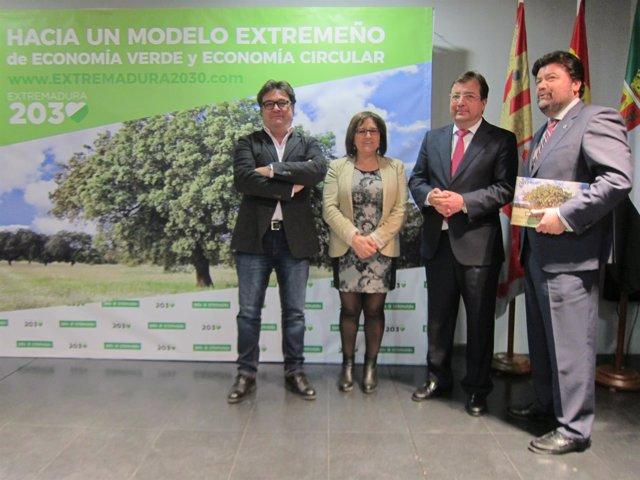 Acuerdo para impulsar la Economía Verde y Circular en Extremadura