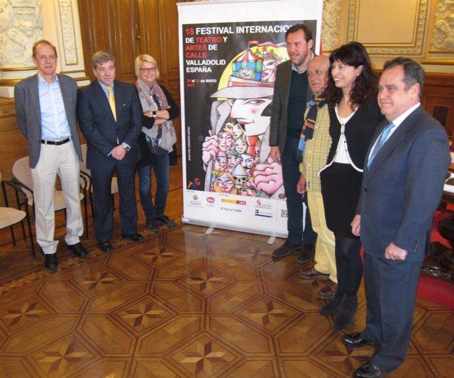 Presentación del Festival de Teatro y Artes de Calle