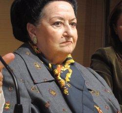 Montserrat Caballé, Medalla d'Or del Reial Cercle Artístic de Barcelona (Europa Press)