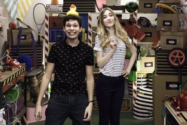 Rebeca Stone y Chim, Ja Ja Show, Disney Channel