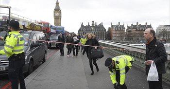 Imágenes y vídeos del ataque frente al Parlamento Británico de Londres