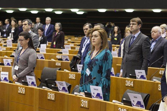 La consejera de Presidencia de la Rioja, Begoña Martínez Arregui
