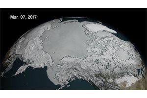 Los polos pierden este año un área de hielo marino mayor que México