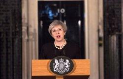 May diu que l'autor de l'atemptat de Londres va néixer al Regne Unit i va ser investigat per l'MI5 ( POOL NEW / REUTERS)