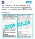 LA POLICIA ESPANOLA DESMIENTE POR ENESIMA VEZ EL BULO SOBRE UN POSIBLE ATAQUE INMINENTE EN ESPANA