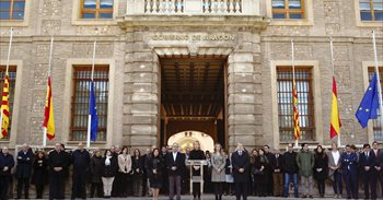 El Gobierno de Aragón expresa su solidaridad al pueblo británico