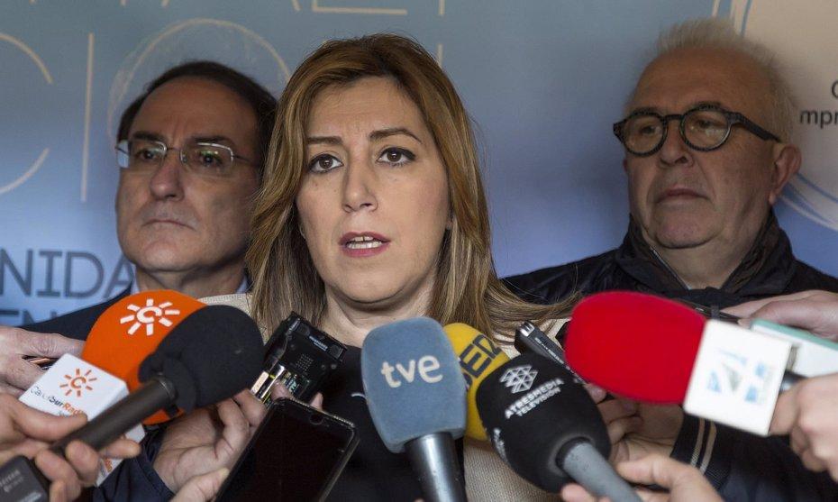 """Foto: Susana Díaz: Los terroristas """"no nos quitarán la defensa de la libertad"""" tras atentado de Londres (EUROPA PRESS/JUNTA DE ANDALUCÍA)"""