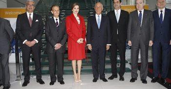 La Reina Letizia lleva la lucha contra el cáncer a Oporto