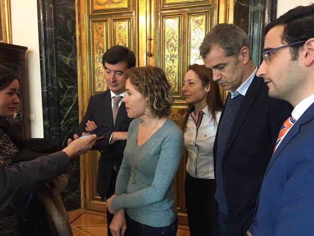 La portavoz de Eduacción de Ciudadanos en el Congreso, Marta Martín