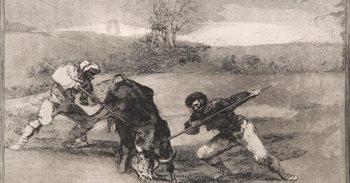 Viaje por la historia en el MUBAG con los grabados de Goya