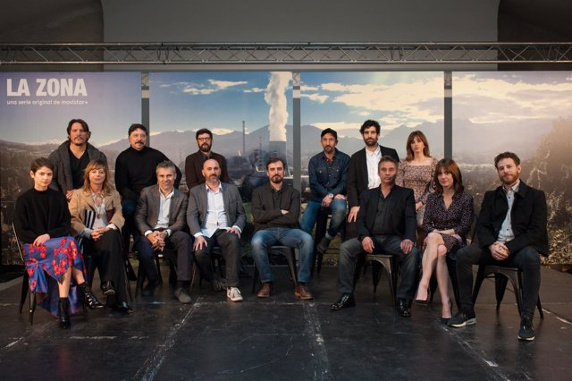 Equipo y reparto de La Zona, serie de Movistar+