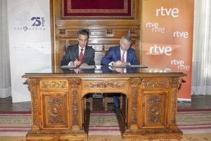 RTVE y Casa de América colaborarán para favorecer el intercambio de conocimiento y las relaciones entre España y América