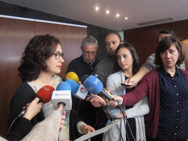 La concejal de Feminismos y LGTBI de Barcelona, Laura Pérez