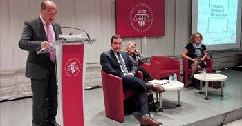 El presidente del TSJC y el Icab coinciden en la necesidad de impulsar la...