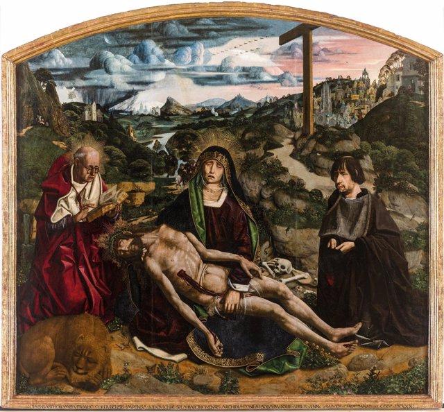 'Pietat Desplà' De Bartolomé Bermejo