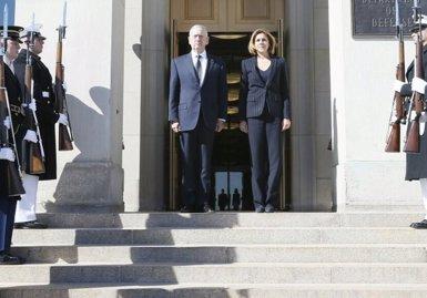 """Cospedal evita ser """"intèrpret"""" de Margallo però diu que un Govern ha de defensar la integritat territorial del seu país (MINISTERIO DE DEFENSA)"""