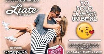 Denuncian el anuncio de un bar de Cuenca por ofrecer como reclamo besos...