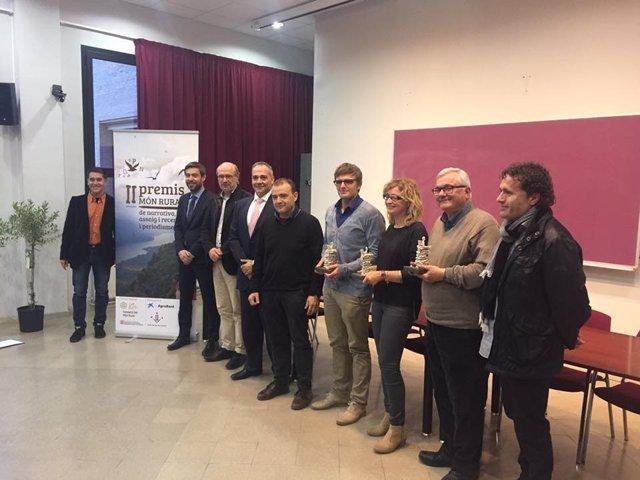 Entrega de los premios 'Món Rural'