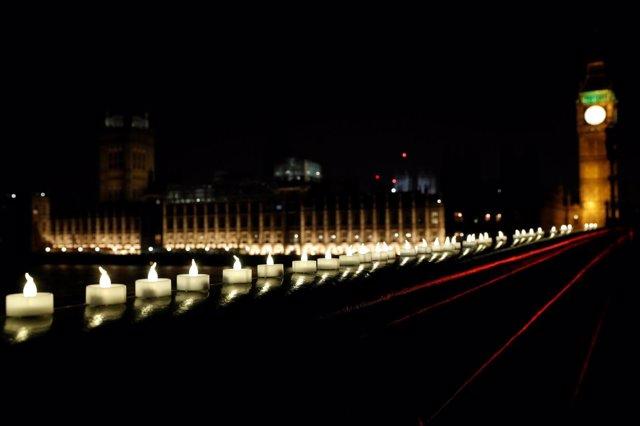 Vigilia en Londres