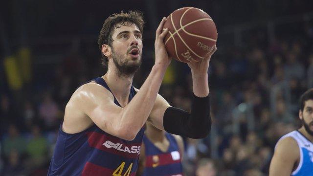 Ante Tomic en el FC Barcelona Lassa - Rio Natura