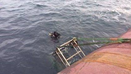 Recuperado el cadáver del segundo marinero desaparecido cerca del pesquero hundido