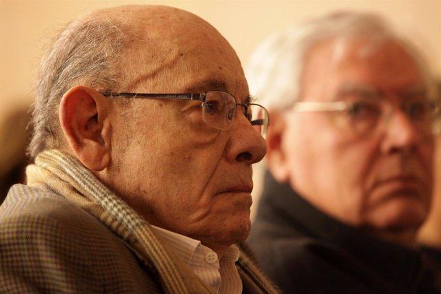 Fèlix Millet junto a Jordi Montull en el juicio por el caso Palau