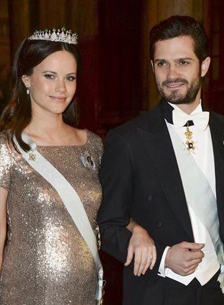 El estilo premamá de Sofía de Suecia, la princesa que se intercambia ropa con una futura reina