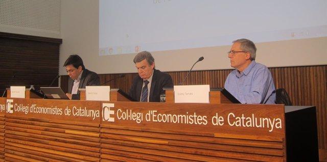 Gerardo Pisarello, Joan B.Casas y Vicenç Terrats
