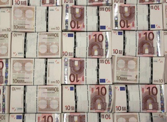 10 Euros Billetes. Euro