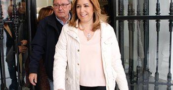 González, Zapatero, Guerra y Rubalcaba arroparán a Susana Díaz en su...