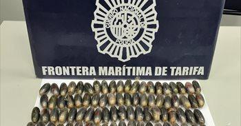 Detenidos en Tarifa con más de 200 bellotas de hachís en el interior del...