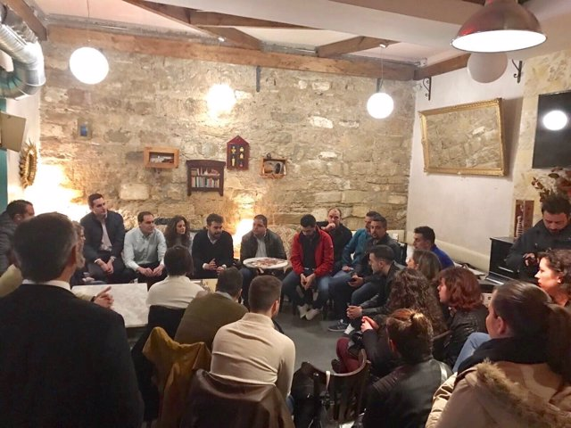 Presentación de la plataforma en apoyo a Díaz